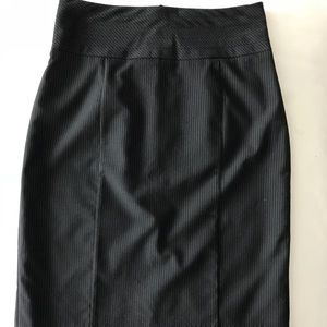 H&M Striped Pencil Skirt